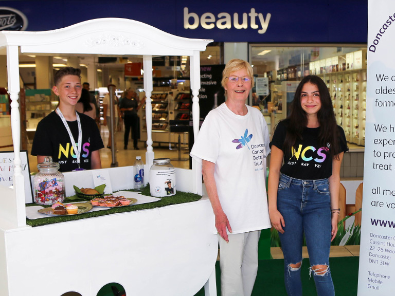 NCS volunteers Frenchgate