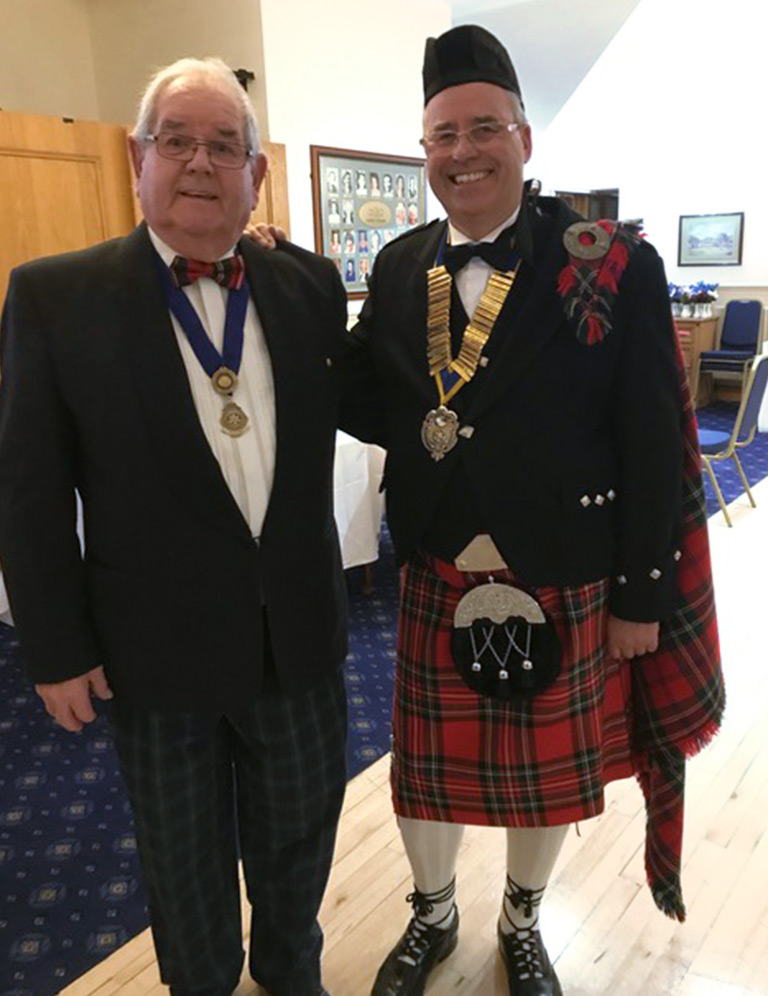 Doncaster St Leger Rotary Club Burns Night
